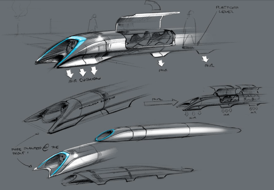 First Test Track To Be Built for Hyperloop Train System