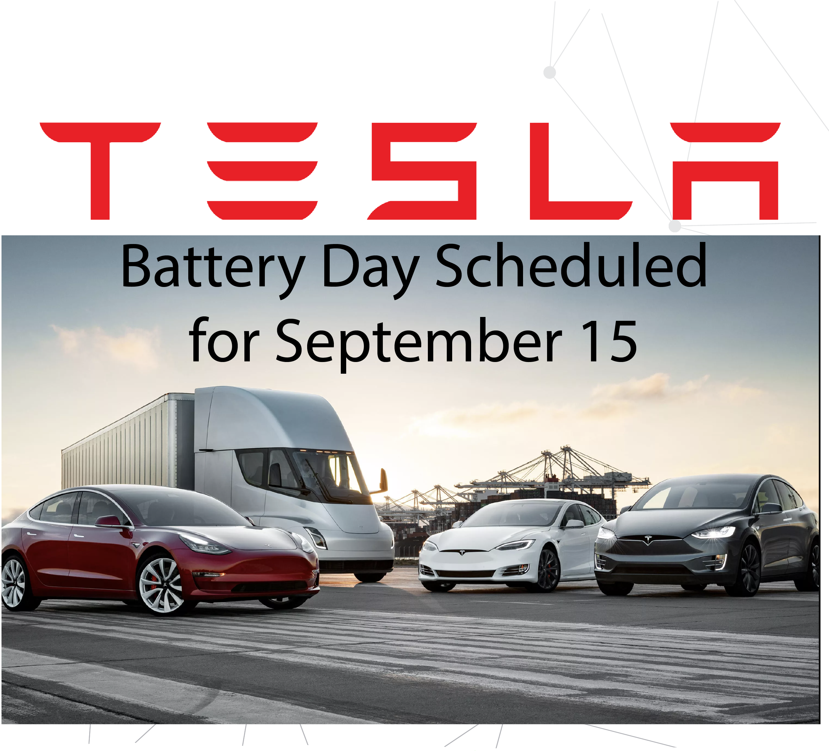 Battery Day Announced