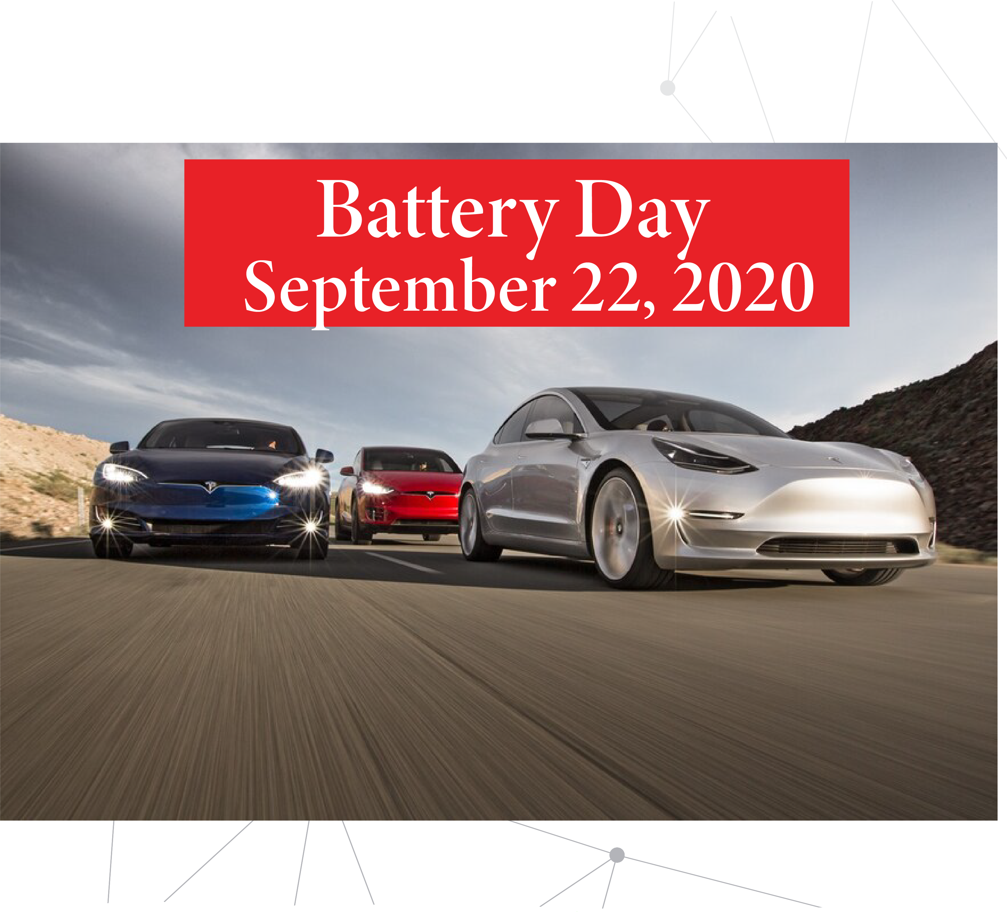 Battery Day Confirmed