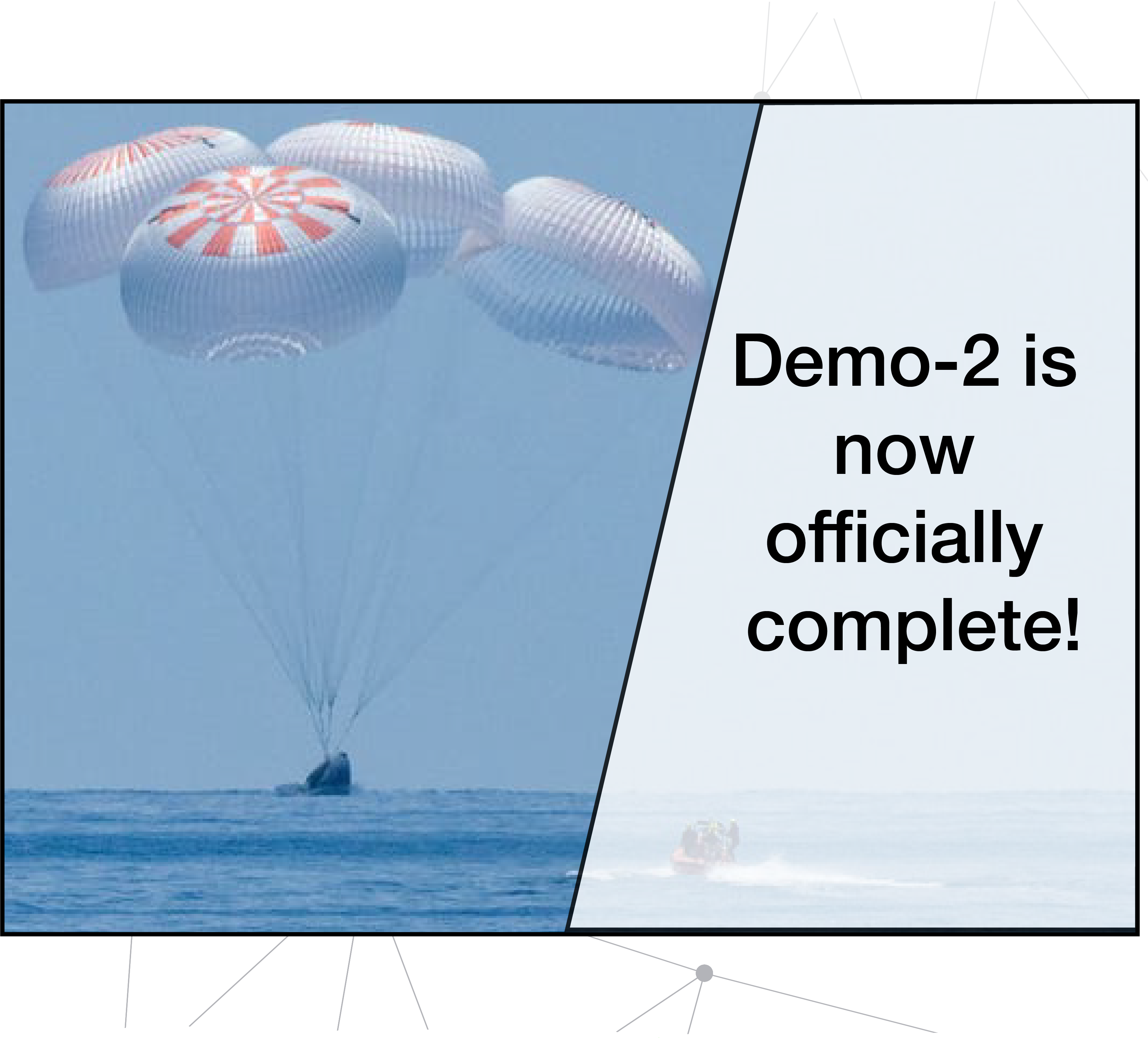 Demo-2 is now officially complete!