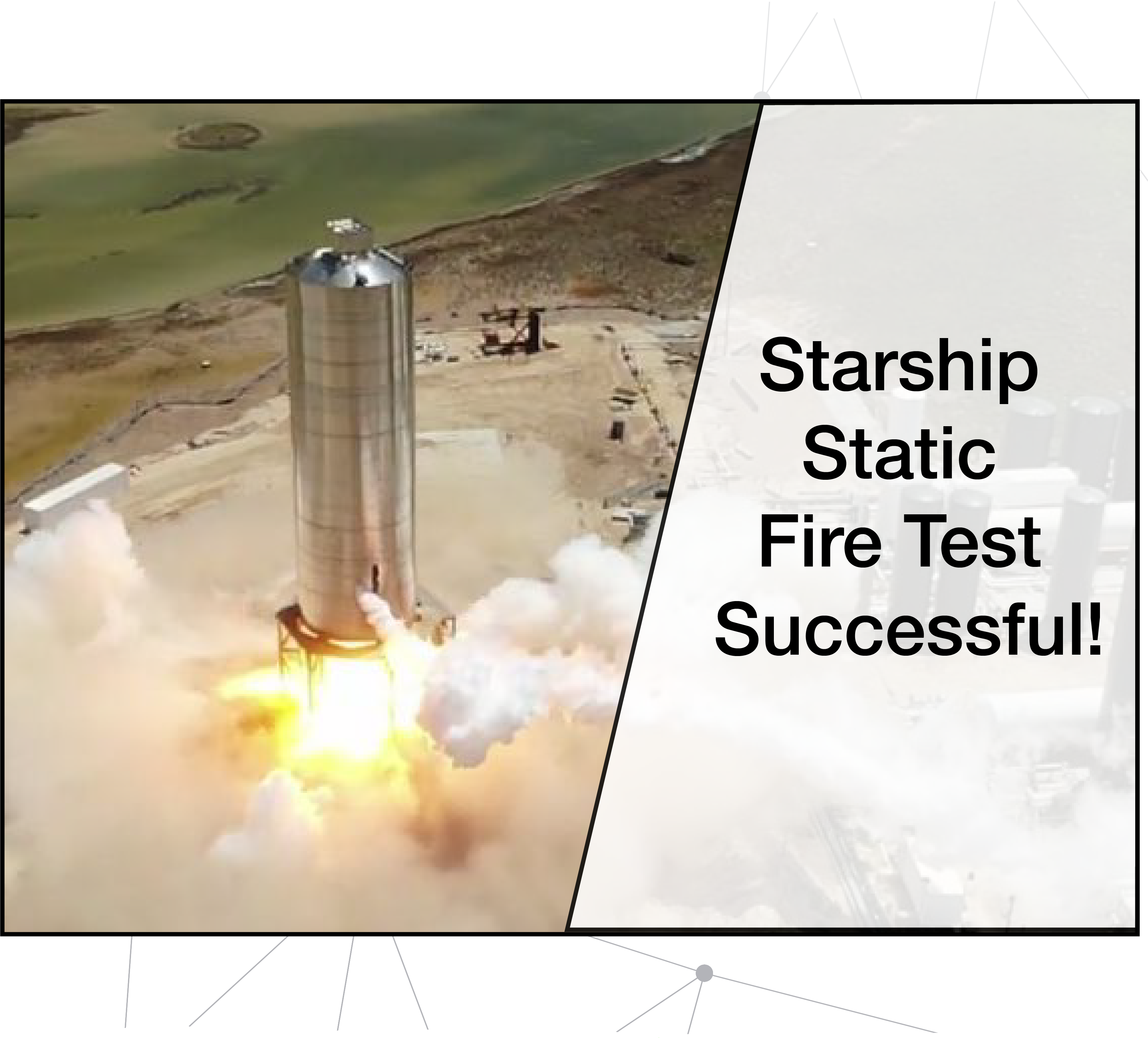 Starship's Static Fire test successful!