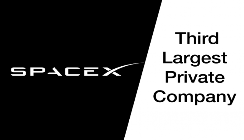 SpaceX: Third Largest Private Company