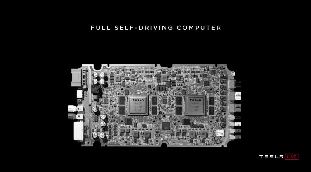 Tesla Self-Driving Computer